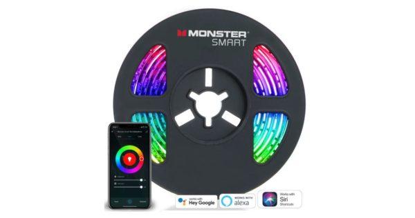 Bande lumineuse LED MONSTER Smart Wi-Fi 2m image 01